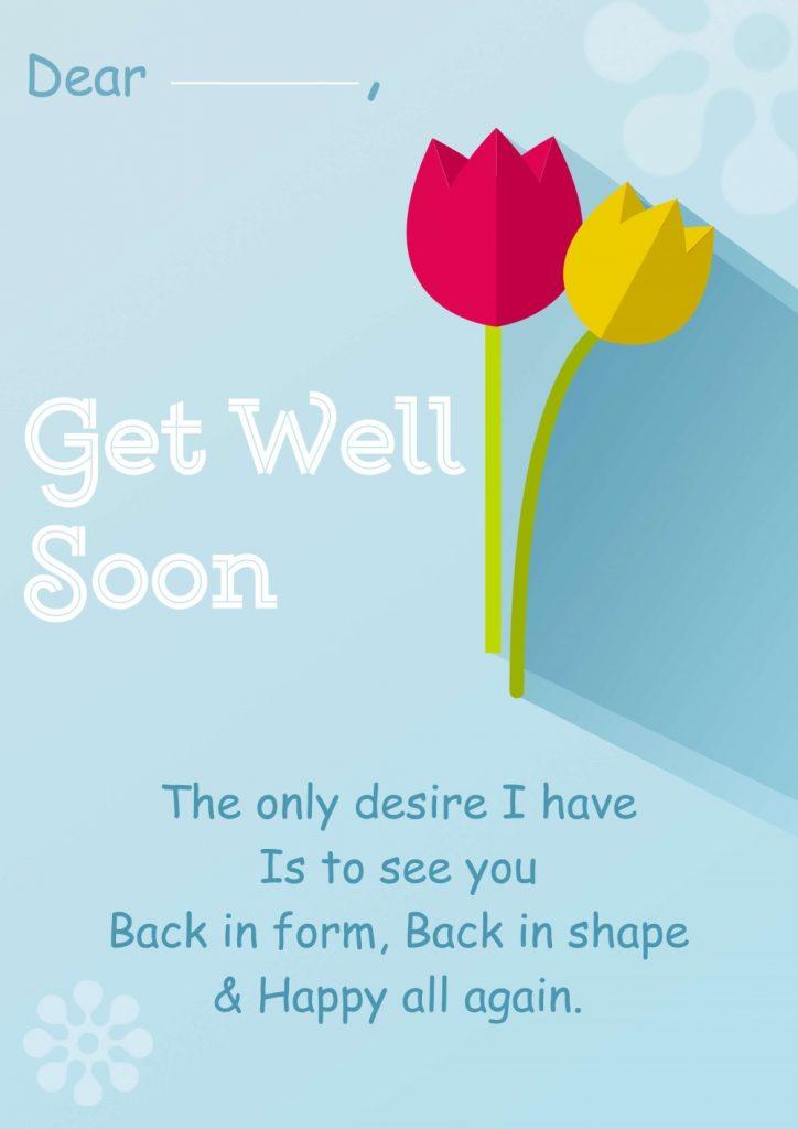 "Digital beautiful DIY card Beautiful DIY ""Get Well Soon"" Card Ideas"