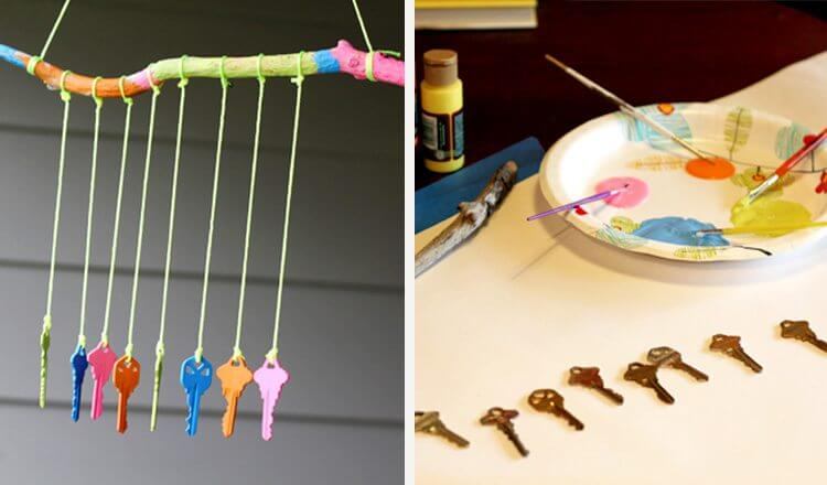 Beautiful wind chime crafts for mother's day Mother's Day Craft Ideas for Kids