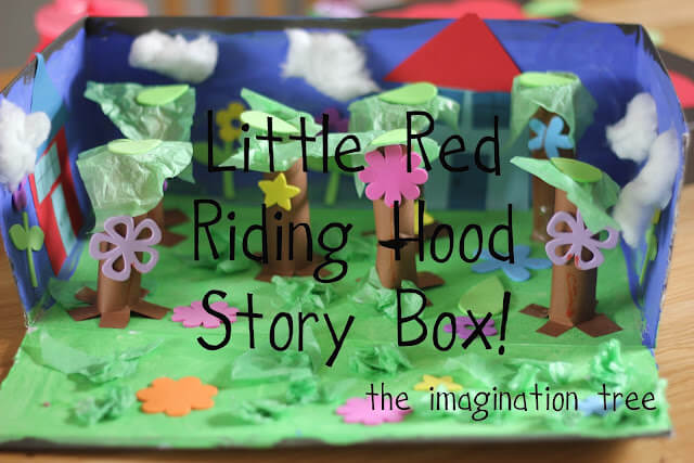 Red Riding Hood story activity Creative Ways of Storytelling with Crafts