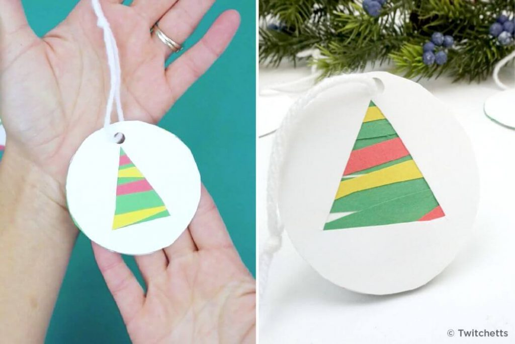 Beautiful tree hanging Christmas Crafts for kids Easy Christmas Craft Ideas for Kids