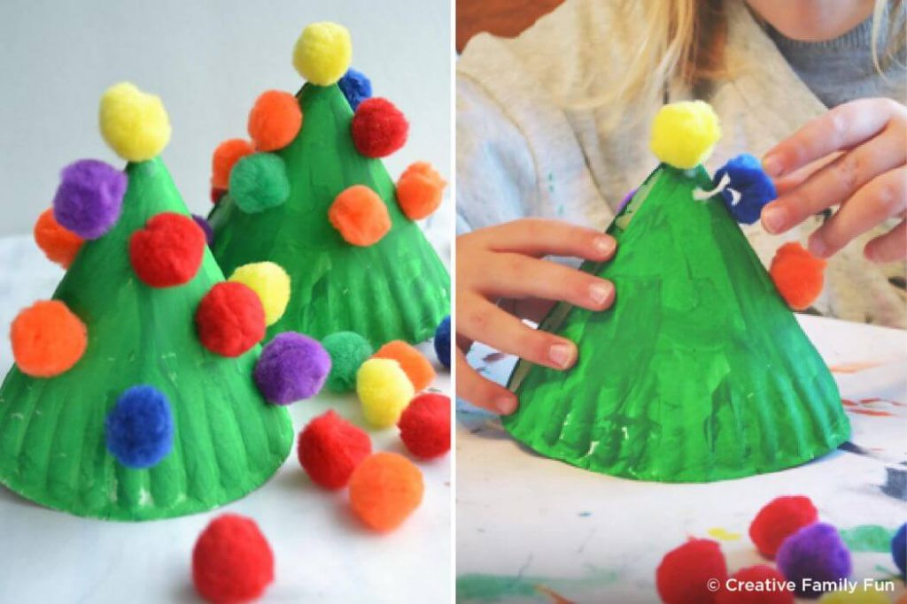 Paper plate Christmas craft hacks for kids Easy Christmas Craft Ideas for Kids