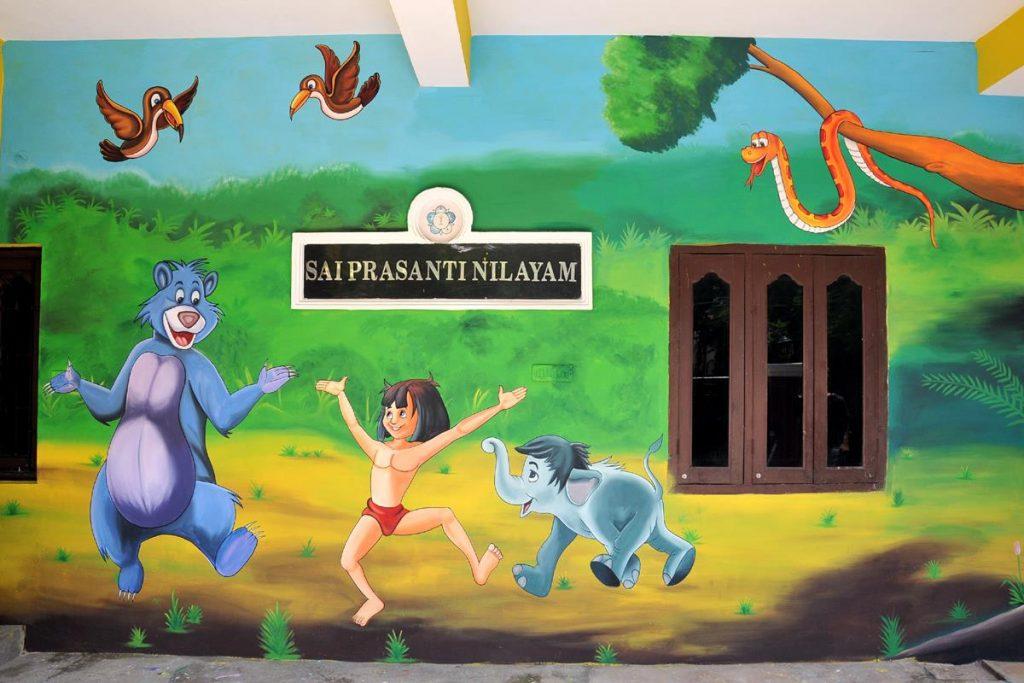 Mougli wall paintings