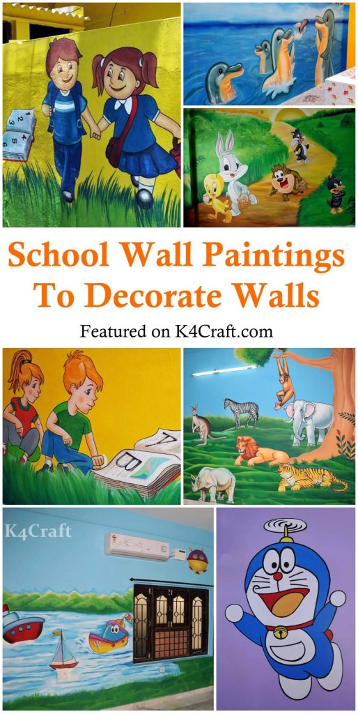 Play School Wall Paintings to Decorate Walls