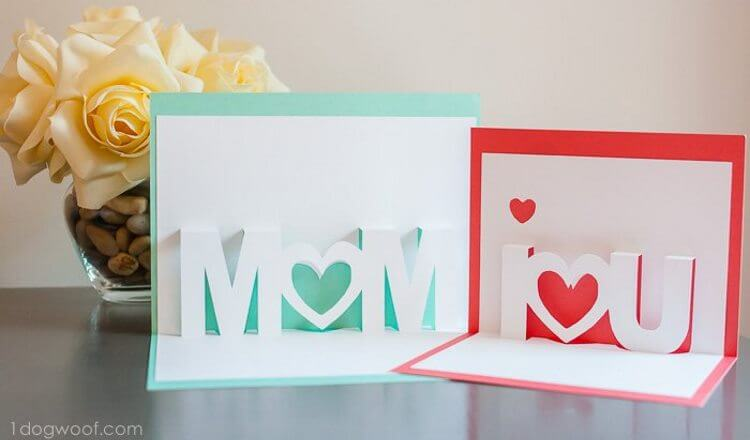 D Card Mother's Day Craft Ideas for Kids Mother's Day Craft Ideas for Kids