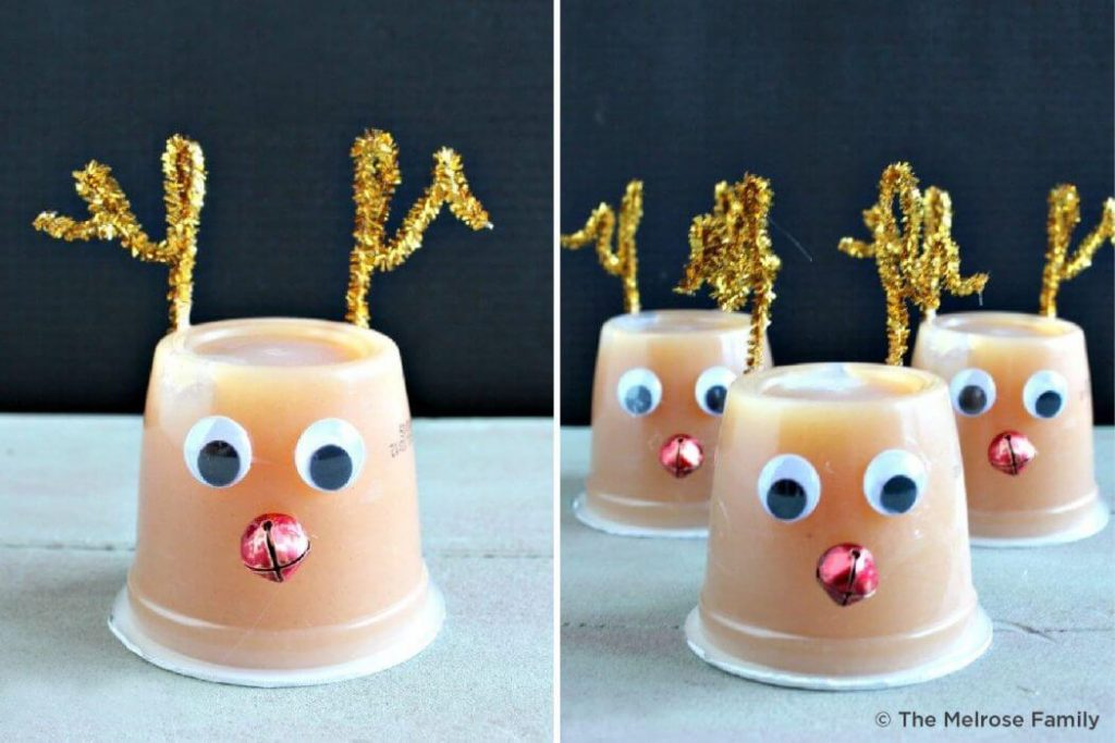 Reindeer Christmas Crafts for kids Easy Christmas Craft Ideas for Kids