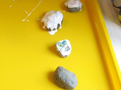 Making stone props for storytelling Creative Ways of Storytelling with Crafts
