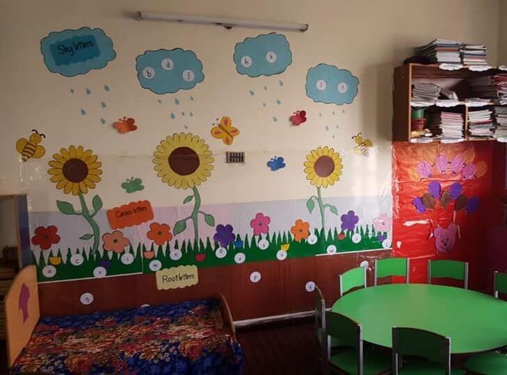 Rainy season wall idea for school Easy Sunday School Craft Ideas for Kids