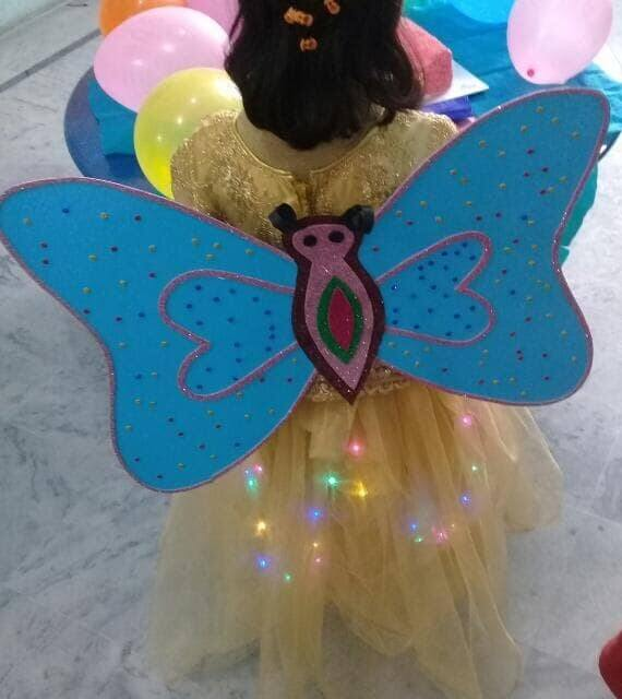Beautiful butterfly wings girl sunday school christmas craft ideas for preschoolers
