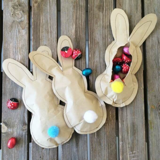 Easter goodies DIY bunny craft ideas DIY Bunny Craft Ideas & Video Tutorials
