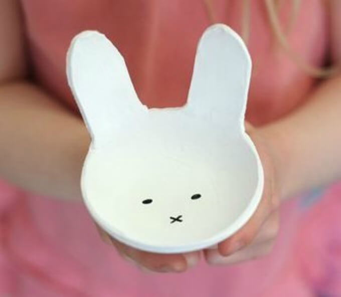 Porcelain DIY bunny craft ideas DIY Bunny Craft Ideas & Video Tutorials