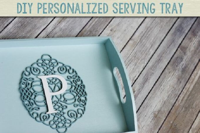 Symbolic DIY Serving Tray Idea