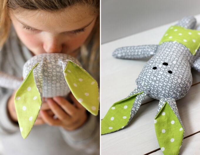 Soft toy craft ideas DIY Bunny Craft Ideas & Video Tutorials