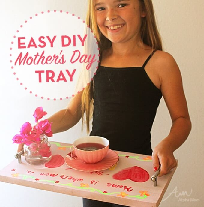 Kids DIY Serving Tray Ideas