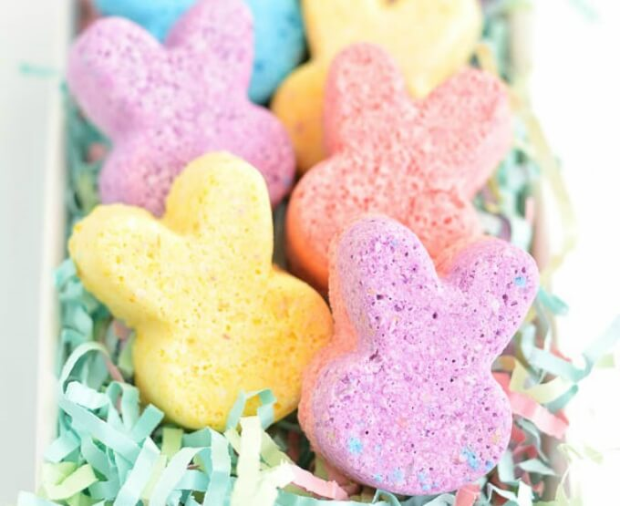 Bath bomb DIY bunny craft ideas DIY Bunny Craft Ideas & Video Tutorials