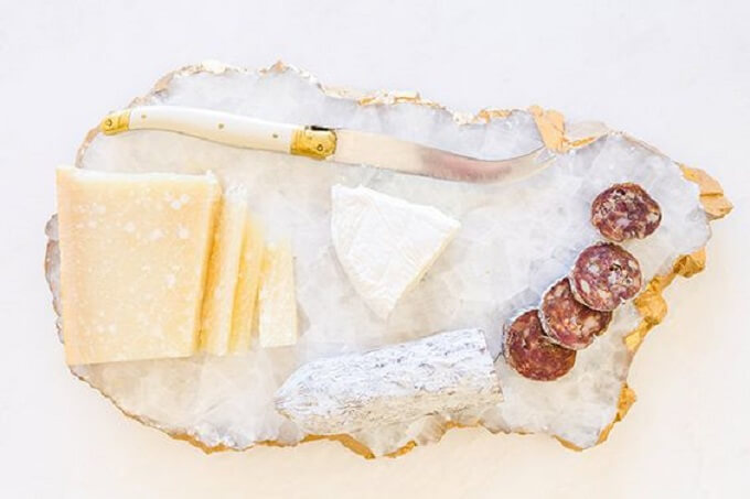 Crystals Inspired DIY Serving Tray Ideas
