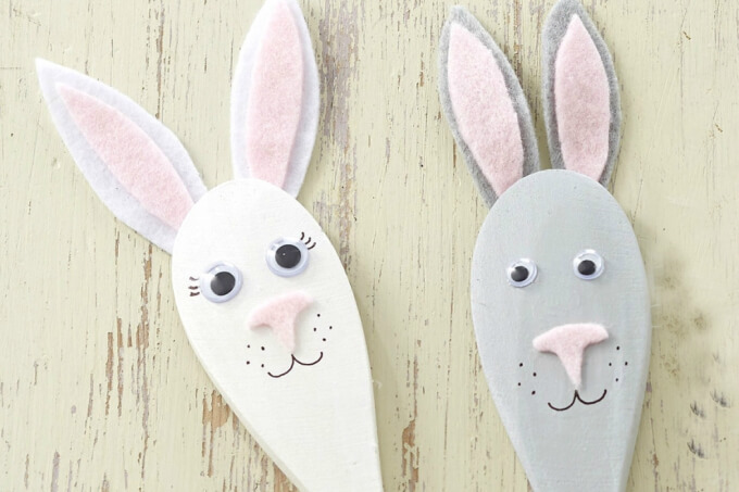 Foam bunny craft ideas DIY Bunny Craft Ideas & Video Tutorials