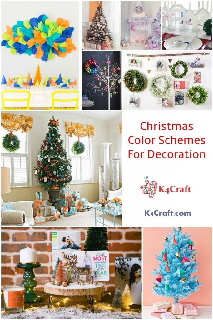 Christmas Color Schemes For Decoration