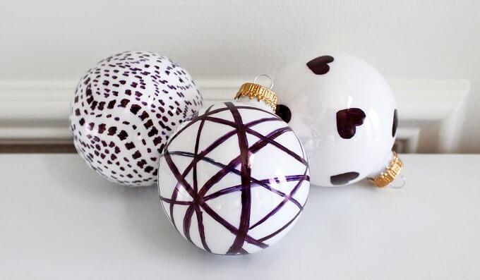 Beautiful Homemade tree balls Unique DIY Homemade Christmas Ornaments
