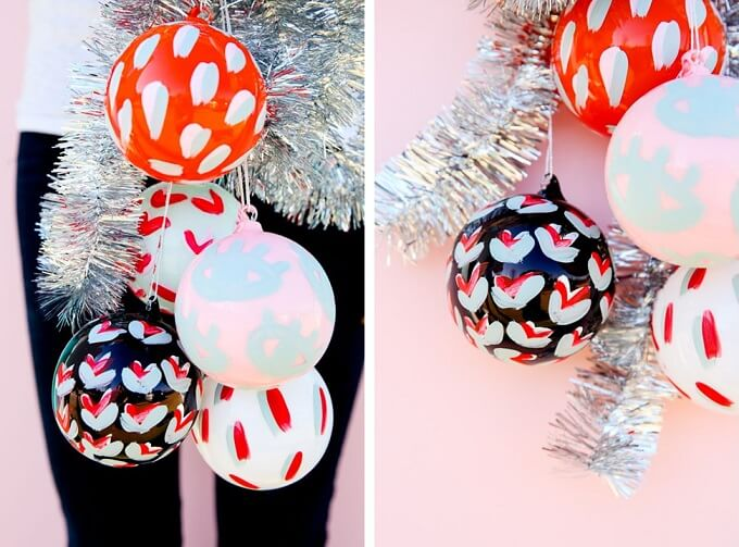 Beautiful balloons Christmas Ornaments Unique DIY Homemade Christmas Ornaments