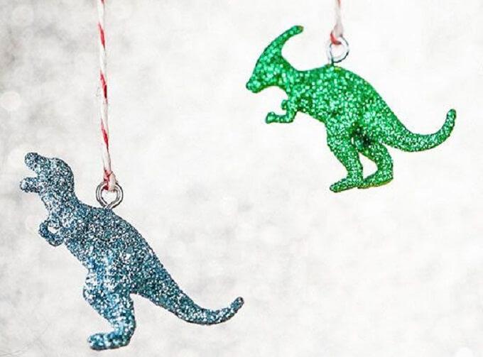 Dinasors Christmas Ornaments Unique DIY Homemade Christmas Ornaments