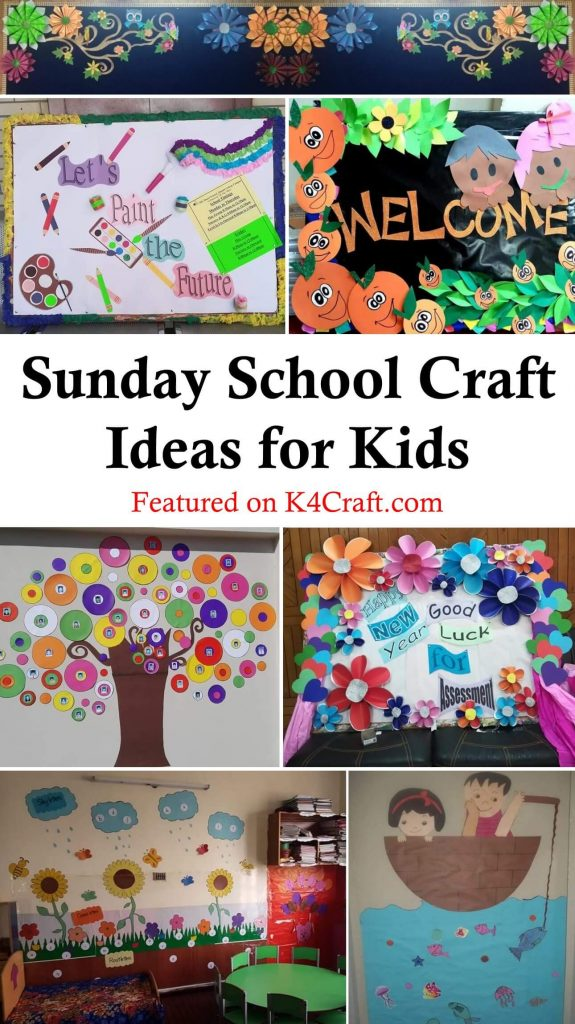 Easy Sunday School Craft Ideas for Kids