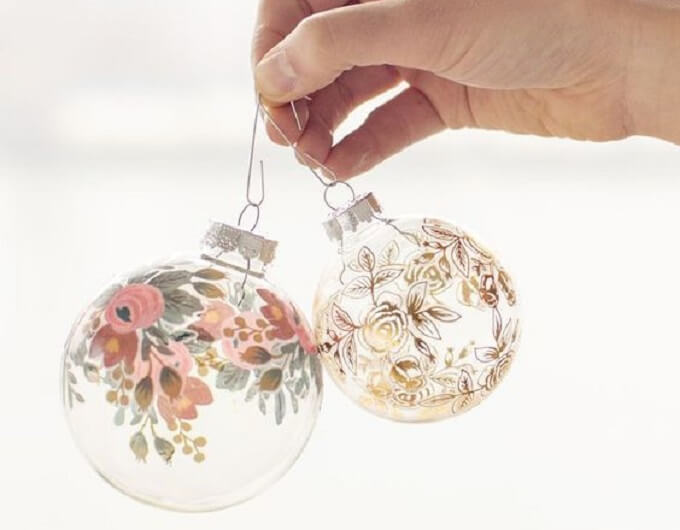Beautiful lamp Christmas Ornaments Unique DIY Homemade Christmas Ornaments