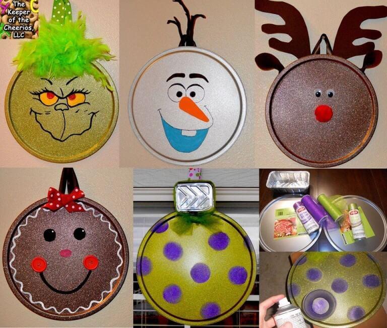 Unique Homemade Christmas Ornaments Unique DIY Homemade Christmas Ornaments