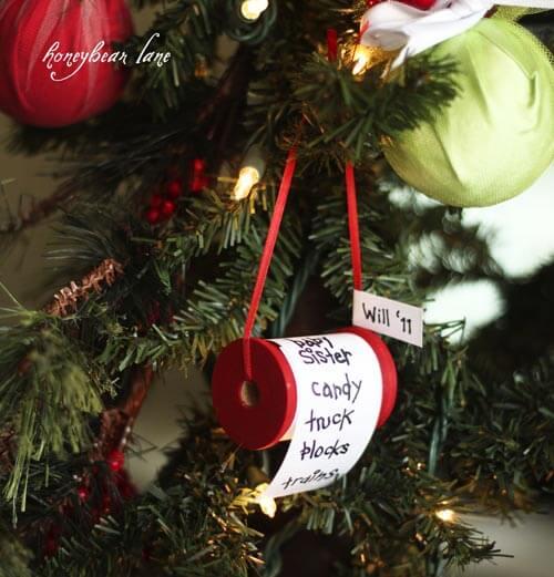 Homemade Christmas gift list Unique DIY Homemade Christmas Ornaments
