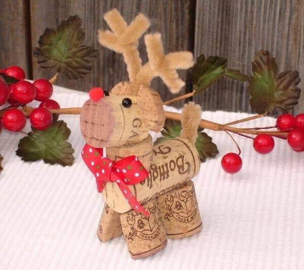 Cork Christmas Ornaments Unique DIY Homemade Christmas Ornaments