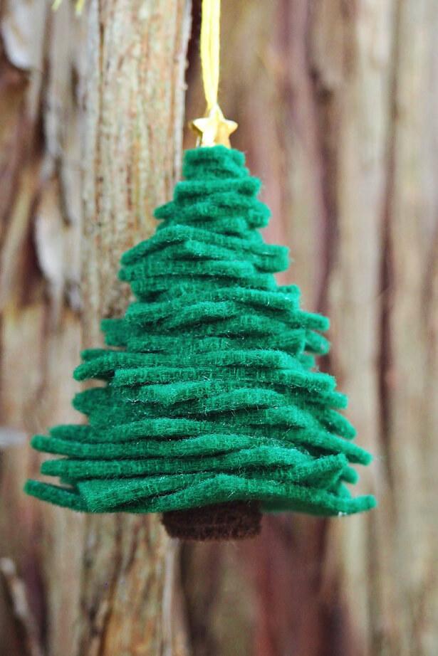 Felt Christmas Ornaments Unique DIY Homemade Christmas Ornaments