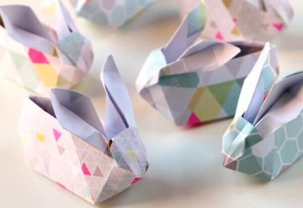 Easy Origami Paper Crafts For Kids (Step By Step Instructions) - Easy Origami Bunny