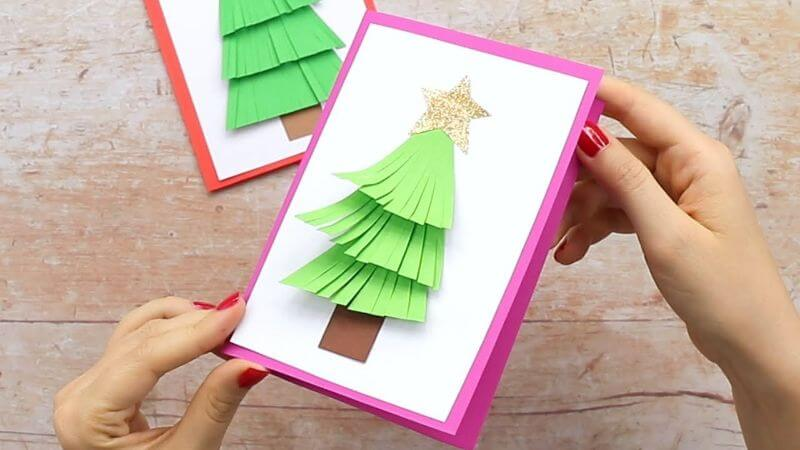 Adorable Christmas Tree Crafts For kids