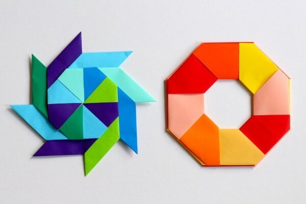 Easy Origami Paper Crafts For Kids (Step By Step Instructions) - Origami Parallelogram