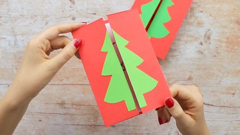 Simple Homemade Christmas Card Ideas