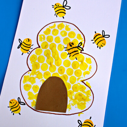 Honey bee crafts for toddlers Yellow Crafts for Toddlers