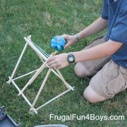 School Project Catapult It's time to take a big shot Catapult Craft for Kids