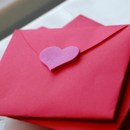 The Amazing All-in-one Envelope - Heart Crafts for Kids - Preschool Valentine's Day Crafts