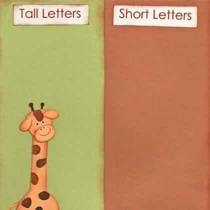 Learning letters the fun way Easy to Make File Folder Games for Kids