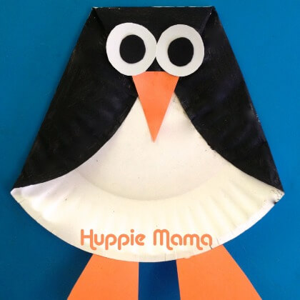 Penguin crafts for kids using paper plate Penguin Craft Ideas for Kids