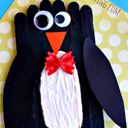 Popsicle Penguin crafts Penguin Craft Ideas for Kids