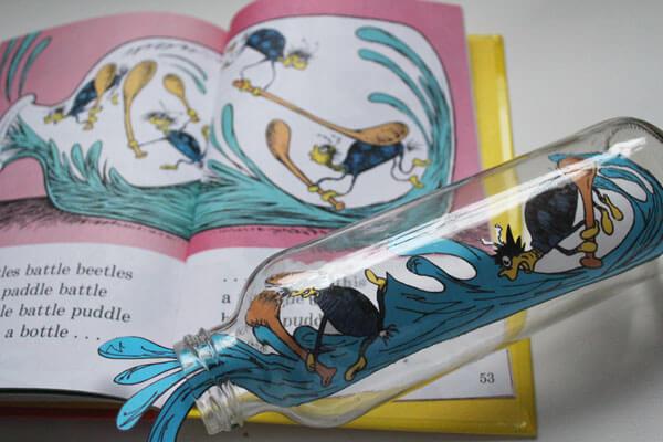 Fox In Socks Bottle Craft For Preschool DR SEUSS CRAFT Activities FOR KIDS