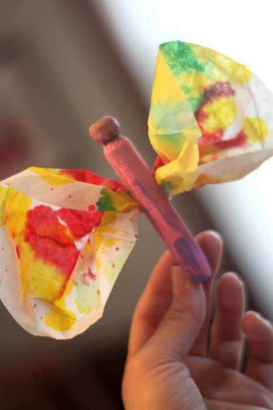 Butterfly Spring Art Projects for Kids to Create