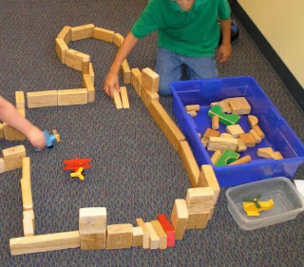 Making Gaming Arenas Wooden Block Activities