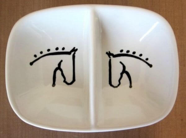 Well crafted Horse Dish for Toddlers