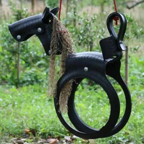 DIY Horse Swing Craft to Have Fun in Garden