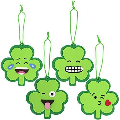 Shamrock hangings for St. Patrick's Day