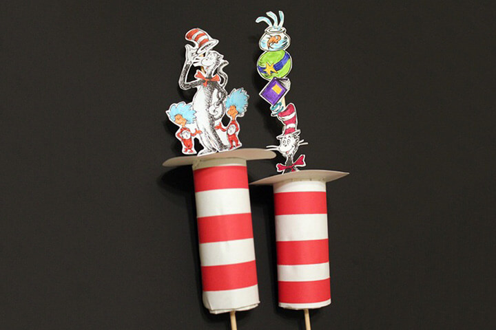 Dr. Seuss Toilet Paper Roll Craft DR SEUSS CRAFT Activities FOR KIDS