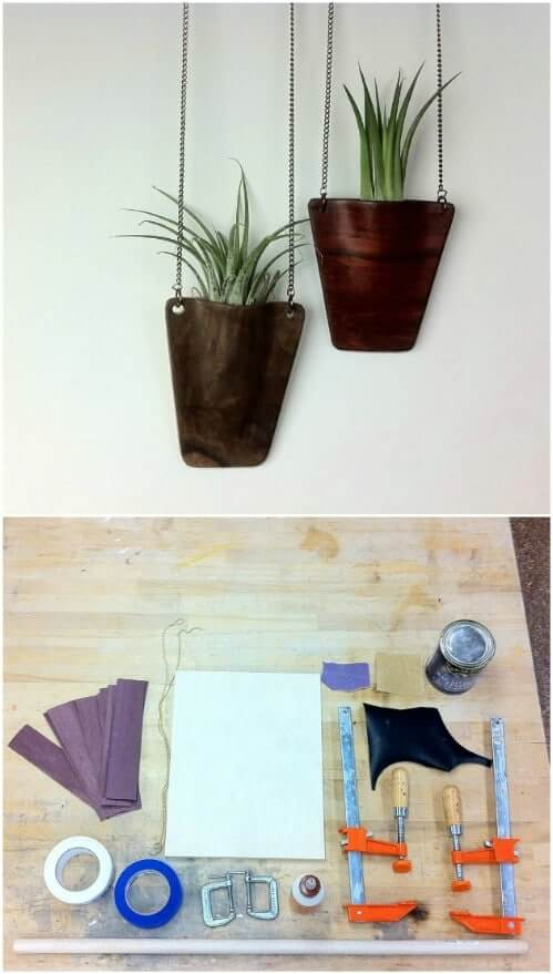 How to make hanging planters at home
