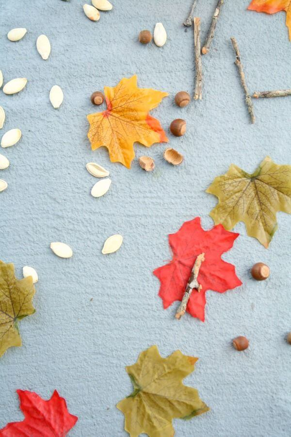 Falling Art - Leaf Activities for Preschoolers