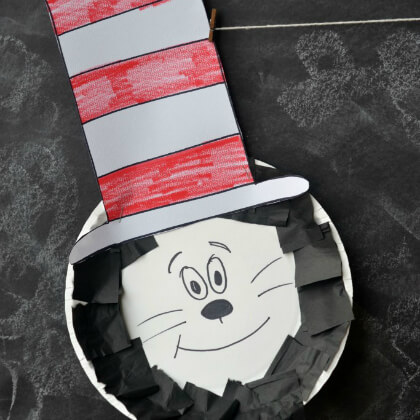 Cat In The Hat Paper Plate